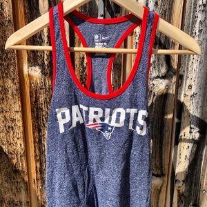 New England Patriots Nike Tank Top